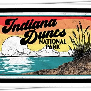Indiana Dunes National Park Sticker