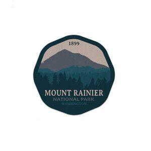 Mount Rainier National Park Forrest Decal