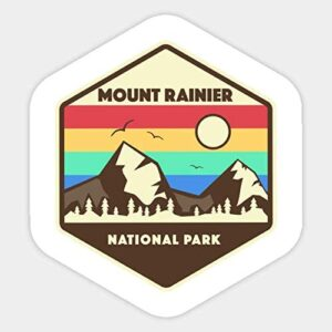 Mount Rainier National Park Sticker