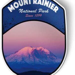 Mount Rainier Washington National Park Decal
