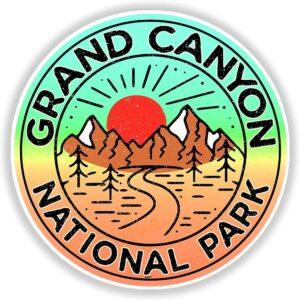 Retro Grand Canyon National Park Sticker