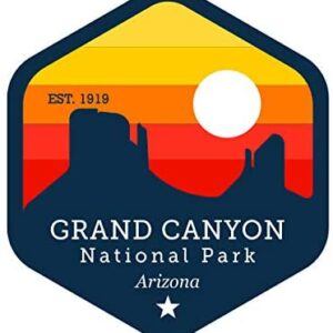 Retro Grand Canyon Sticker