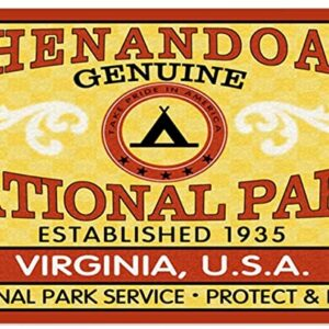 Shenandoah National Park Rectangle Sticker