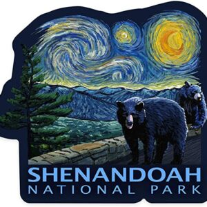 Shenandoah National Park Starry Night Decal