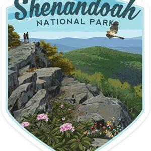 Shenandoah National Park Vinyl Die Cut Sticker