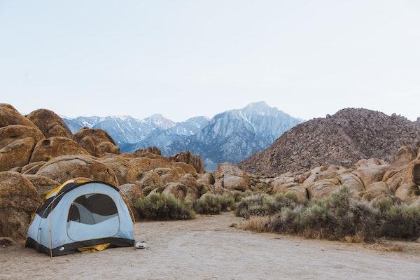 Dispersed Camping State Land
