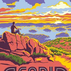 Acadia National Park Cadillac Mountain Poster