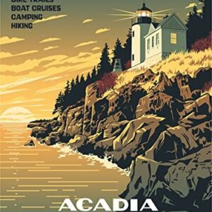 Acadia National Park Department Of The Interior Poster