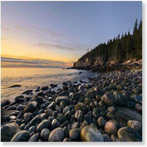 Acadia National Park Maine Beach Print