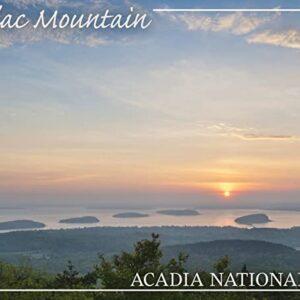 Acadia National Park Maine Cadillac Mountain Print