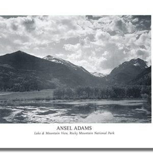 Ansel Adams Rocky Mountain National Park Poster