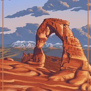 Arches National Park Delicate Arch Poster