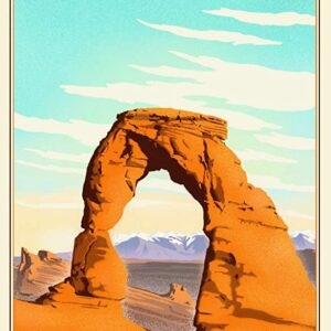 Arches National Park Lithograph