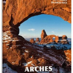 Arches National Park Snow Arch Poster