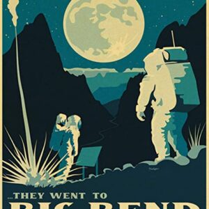 Big Bend National Park Astronaut Poster