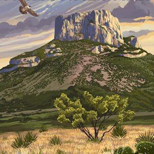 Big Bend National Park Casa Grande Poster