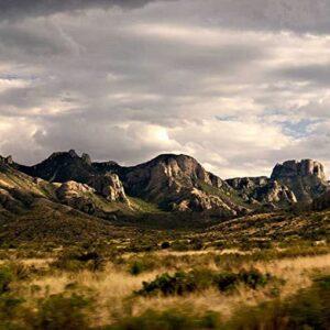 Big Bend National Park Clouds Art Print