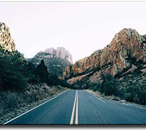 Big Bend National Park Highway Poster
