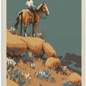 Big Bend National Park Horseback Wall Decor