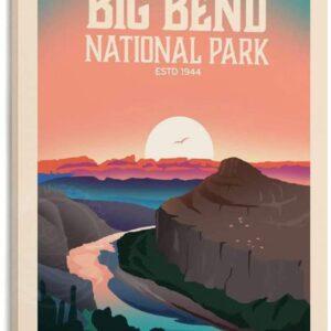 Big Bend National Park Poster