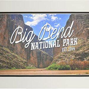 Big Bend National Park Rio Grande Poster