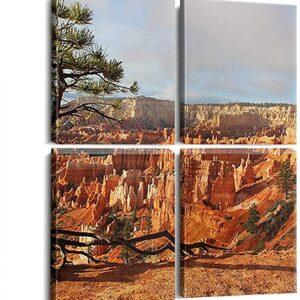 Bryce Canyon National Park 4 Piece Print