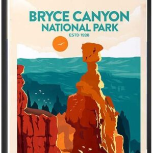 Bryce Canyon National Park Retro Poster
