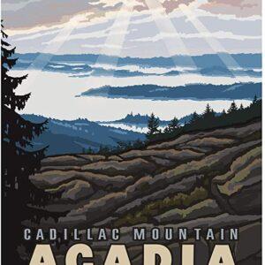 Cadillac Mountain Acadia Print