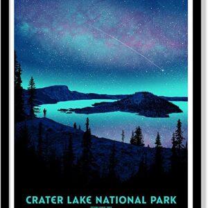 Crater Lake Alauraborealis Poster