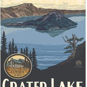 Crater Lake National Park Wizard Island Poster