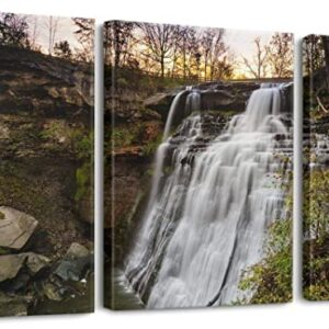 Cuyahoga Valley National Park Canvas Waterfall Print