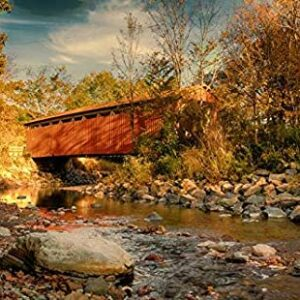Cuyahoga Valley National Park Covered Bridge Poster