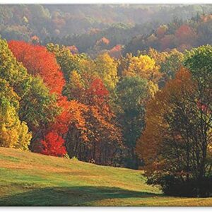 Cuyahoga Valley National Park Fall Metal Poster