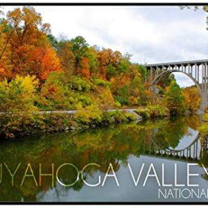Cuyahoga Valley National Park Ohio Fall Print