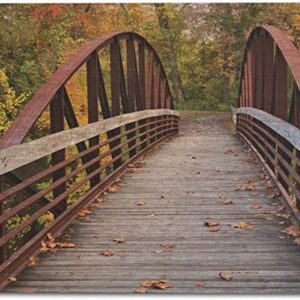 Cuyahoga Valley National Park Towpath Bridge Print