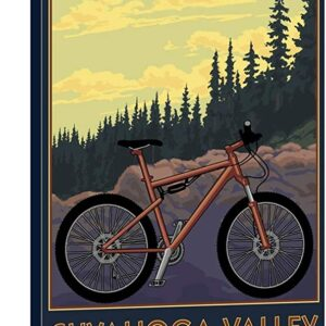 Cuyahoga Valley National Park Towpath Poster