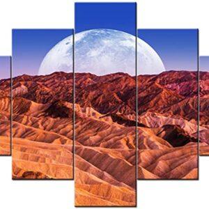 Death Valley National Park 5 Panel Print