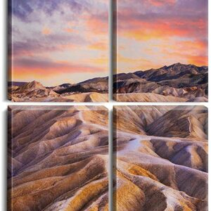 Death Valley National Park California Square Poster