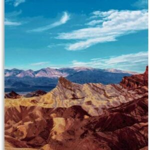Death Valley National Park Canvas Poster