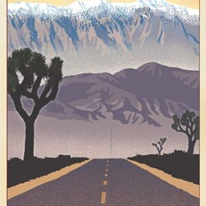 Death Valley National Park Lithograph