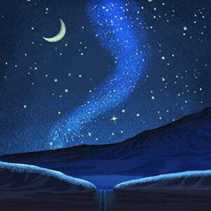Death Valley National Park Night Sky Print