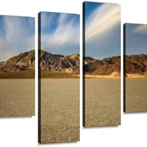 Death Valley National Park Racetrack 4 Piece Print