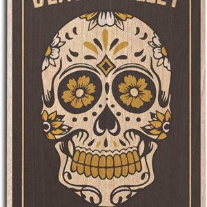 Death Valley National Park Skull Print