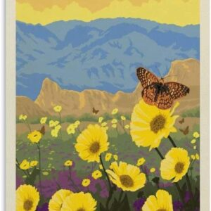 Death Valley National Park Travel Poster