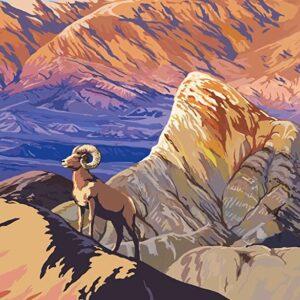 Death Valley National Park Zabriskie Point Poster