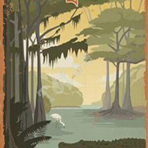 Everglade National Park Tin Print