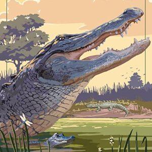 Everglades National Park Florida Poster