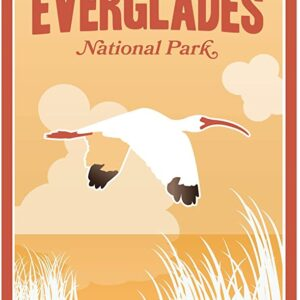 Everglades National Park Illustration Print