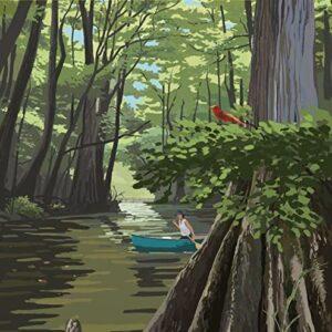 Everglades National Park River Poster