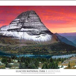 Glacier National Park Hidden Lake Wall Art